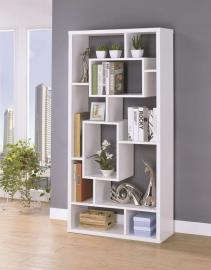 Olivia Collection 802262 White Bookcase