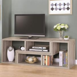 Grey Driftwood Finish 802330 Bookcase/TV Stand