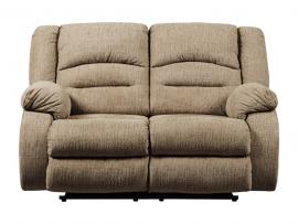 Labarre Mocha by Ashley 8140314 Power Reclining & Power Headrest Loveseat
