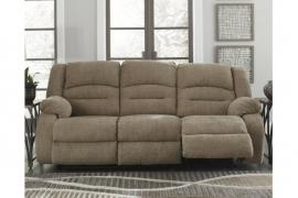 Labarre Mocha by Ashley 8140315 Power Reclining & Power Headrest Sofa