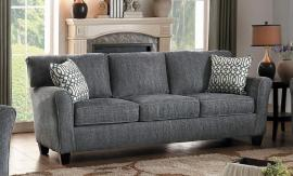 Alain 8225NGY-3 by Homelegance Sofa