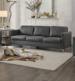 Breaux 8235GY-3 by Homelegance Sofa