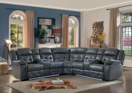 Kalmar Power Sectional 8255GY by Homelegance