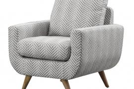 Deryn by Homelegance Accent Chair 8327GY-1S