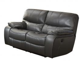 Pecos Collection by Homelegance Power Reclining Loveseat 8480GRY-2PW