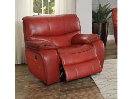 Pecos Collection by Homelegance Power Reclining Chair 8480RED-1PW