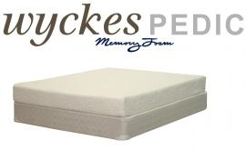 "Wyckes Pedic 8"" Memory Foam Twin Mattress"