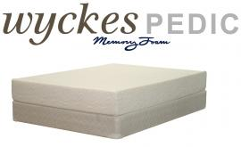 "Wyckes Pedic 10"" Eastern King Memory Foam Mattress"