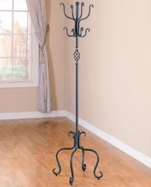 Sandy Black Finish Collection 900039 Coat Rack