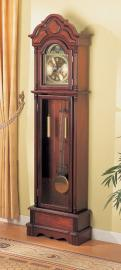 Caprice 900749 Brown Red Grandfather Clock