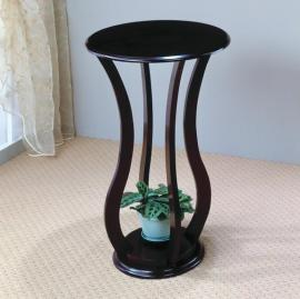 Espresso Finish Accent Table 900934
