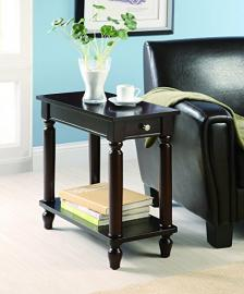 Cappuccino Finish Accent Table 900972