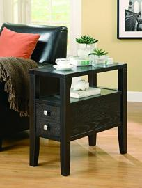 Cappuccino Finish Accent Table 900991