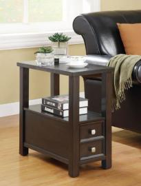 Cappucino Chairside Table 900992
