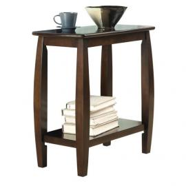 Cappuccino Finish Accent Table 900994