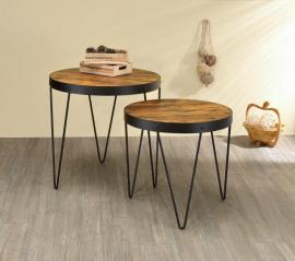 2 Piece Nesting Table Set by Coaster 901944