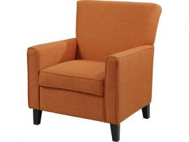 Accent Chair by Coaster 902094 Orange Woven Fabric