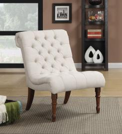 Heather Collection 902176 Oatmeal Accent Chair
