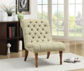 Heather Collection 902218 Green Accent Chair