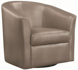 Accent Chair by Coaster 902726 Champagne Leatherette