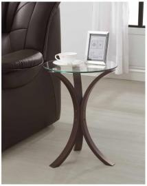 Cappuccino Finish 902867 Accent Table