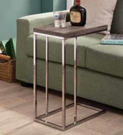 Chrome Finish 902877 Snack Table