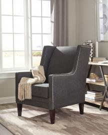 Donny Osmond Home 902988 Dark Charcoal Accent Chair