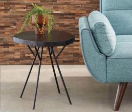 Scott Living 903351 Rich Black Accent Table