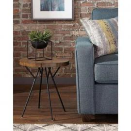 Scott Living 903352 Natural Oak Accent Table