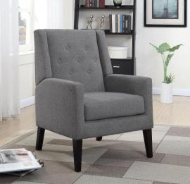 Scott Living 903379 Taupe Accent Chair