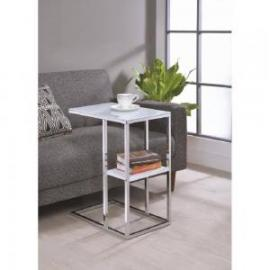 Chrome Finish 904018 Snack Table