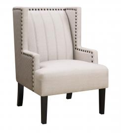 Donny Osmond Home 905132 Light Beige Accent Chair