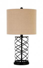 Bronze Twisted Metal 920023 Table Lamp