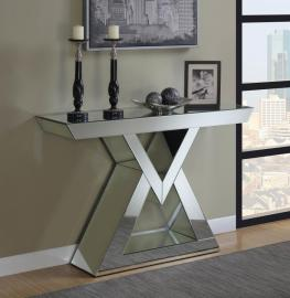 Clyde Collection 930009 Mirrored Console Table