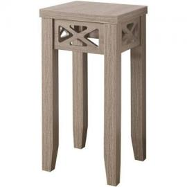 Dark Taupe Finish 930012 Accent Table