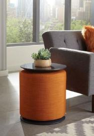 Scott Living 930015 Accent Table with Ottoman