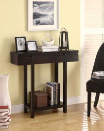 Wendy Collection 950135 Cappuccino Console Table