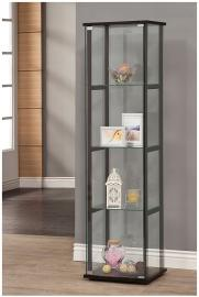 Cary 950171 Contemporary Glass Curio Cabinet