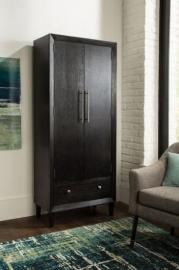 Scott Living 950927 Espresso-Finish Tall Cabinet