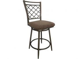Aldric by Acme 96030 Counter Height Swivel Bar Stool Set of 2