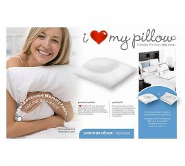 I Love My Pillow Contour Pillow
