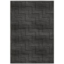 Slate 970174 Grey Chevron Pattern Rug