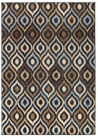 Osiris 970175 Brown & Blue Rug