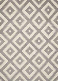 Scott Living 970210 5' x 7' Grey Patterned Rug