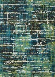 Scott Living 970217 Multi-Tonal 5' x 7' Blue & Green Rug