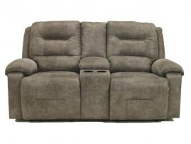 Rotation Smoke by Ashley 9750196 Power Reclining Loveseat