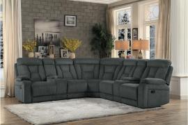 Leather Reclining Sectional Sofa Furniture For Small