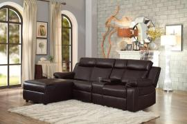 Dalal Sectional 9917DB by Homelegance
