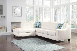 Kirwin White Nuvella 99604-16 by Ashley Sectional Sofa