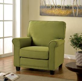 Belem AC6056GR Rolled Arm Accent Chair